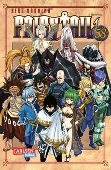 Fairy Tail 58 - Hiro Mashima  [Taschenbuch]