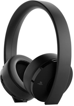 PlayStation 4 Gold draadloze headset zwart