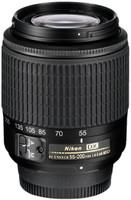 Nikon AF-S DX NIKKOR 55-200 mm F4.0-5.6 ED G 52 mm Objetivo (Montura Nikon F) negro
