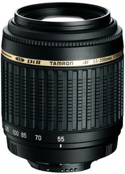 Tamron AF 55-200 mm F4.0-5.6 Di LD II Macro 52 mm Obiettivo (compatible con Canon EF) nero