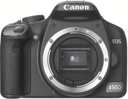 Canon EOS 450D zwart