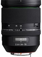 Pentax HD D FA 24-70 mm F2.8 ED SDM WR 82 mm filter (geschikt voor Pentax K) zwart