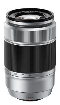 Fujifilm XC 50-230 mm F4.5-6.7 OIS 58 mm filter (geschikt voor Fujifilm X) zilver