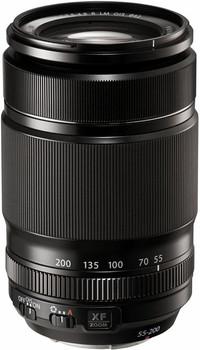 Fujifilm X 55-200 mm F3.5-4.8 LM OIS R 62 mm Objectif (adapté à Fujifilm X) noir