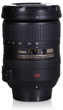 Nikon AF-S DX NIKKOR 18-200 mm F3.5-5.6 ED G IF VR 72 mm Obiettivo (compatible con Nikon F) nero