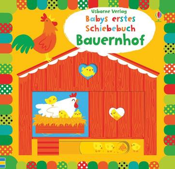 Babys erstes Schiebebuch: Bauernhof - Fiona Watt  [Gebundene Ausgabe]