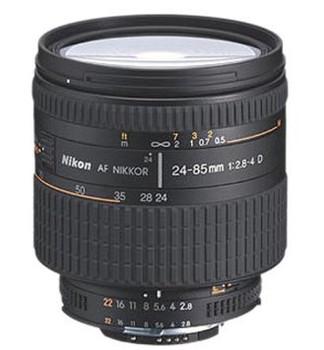 Nikon AF NIKKOR 24-85 mm F2.8-4.0 D 72 mm filter (geschikt voor Nikon F) zwart