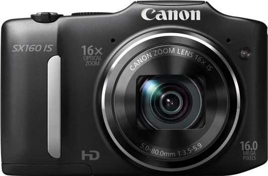 Canon PowerShot SX160 IS negro