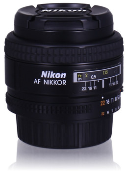 Nikon AF NIKKOR 24 mm F2.8 D 52 mm Obiettivo (compatible con Nikon F) nero