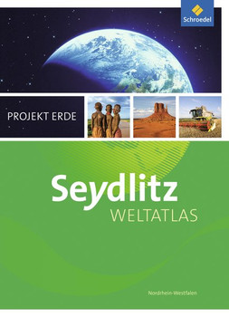 Seydlitz Weltatlas Projekt Erde / Seydlitz Weltatlas Projekt Erde - Ausgabe 2016. Ausgabe 2016 Nordrhein - Westfalen / Nordrhein-Westfalen [Gebundene Ausgabe]