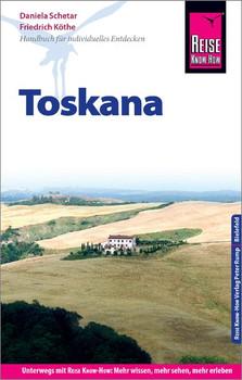 Reise Know-How Reiseführer Toskana - Friedrich Köthe  [Taschenbuch]