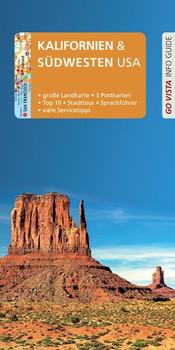 GO VISTA: Reiseführer Kalifornien & Südwesten USA. Mit Faltkarte und 3 Postkarten - Axel Pinck  [Taschenbuch]