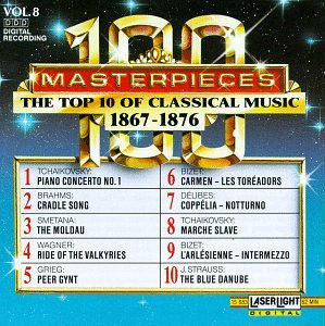 One Hundred Masterpieces - Vol.8-Top Ten of 1867-1876