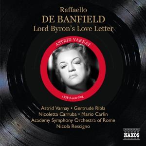 Rescigno - Banfield:Byron S Love Letter