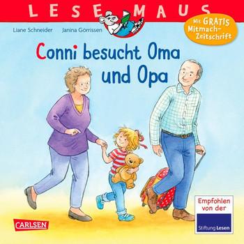 LESEMAUS 69: Conni besucht Oma und Opa - Liane Schneider  [Taschenbuch]