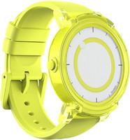 Mobvoi Ticwatch E 44 mm geel met siliconen bandje geel [wifi]