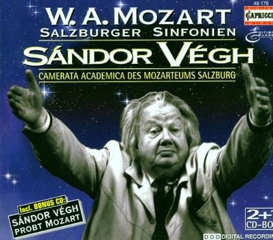 Sandor Vegh - Salzburger Sinfonien