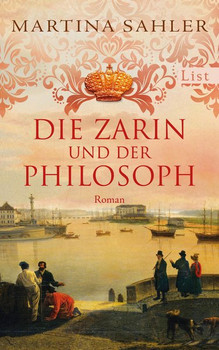 Die Zarin und der Philosoph. Roman - Martina Sahler  [Gebundene Ausgabe]