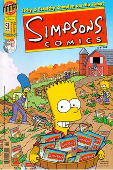 Simpsons Comics: #51 [Broschiert]