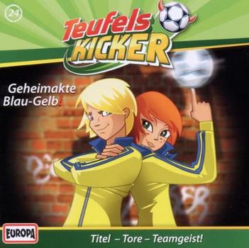 Teufelskicker - 24/Geheimakte Blau-Gelb!