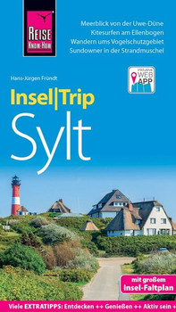 Reise Know-How InselTrip Sylt. Reiseführer mit Insel-Faltplan und kostenloser Web-App - Hans-Jürgen Fründt  [Taschenbuch]