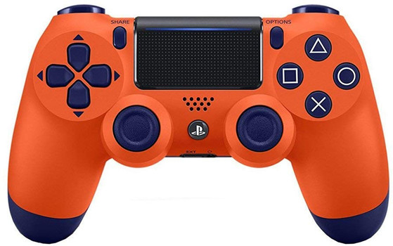 Sony PS4 DualShock 4 Wireless Controller sunset orange [Version 2]