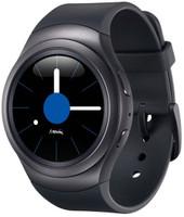 Samsung Gear S2 3G 30,2mm negro con correa de goma gris oscuro [Wifi + 3G]