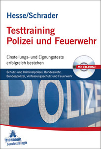 Testtraining Polizei Und Feuerwehr Schutz Und Kriminalpolizei