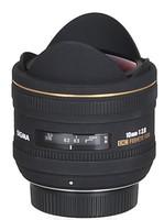 Sigma 10 mm F2.8 DC EX HSM Fisheye (Montura Nikon F) negro