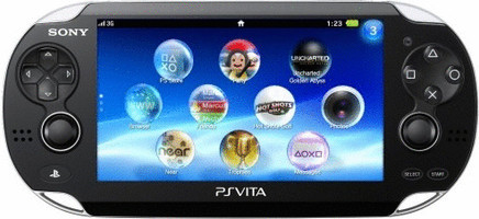 Sony PlayStation Vita [Wifi + 3G] negro