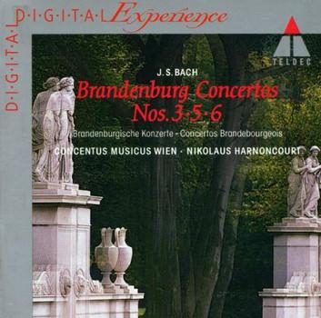 Brandenburgische Konzerte 3, 5 und 6