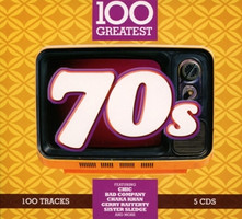 Various - 100 Greatest 70s [5 CDs]