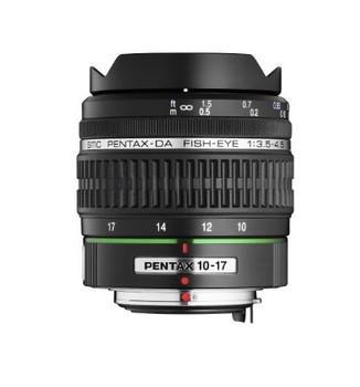 Pentax smc DA 10-17 mm F3.5-4.5 ED IF Fisheye (geschikt voor Pentax K) zwart