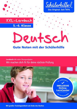 XXL-Lernbuch Deutsch 5./6. Klasse. Gute Noten mit der Schülerhilfe [Taschenbuch]
