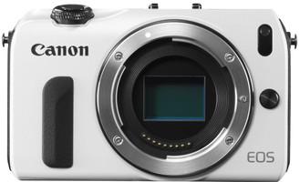 Canon EOS M Cámara compacta Cuerpo blanco