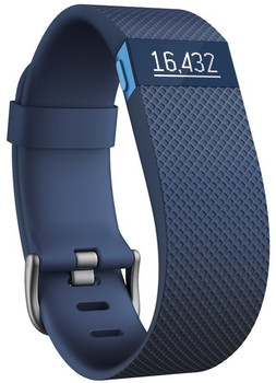 Fitbit Charge HR Large bleu