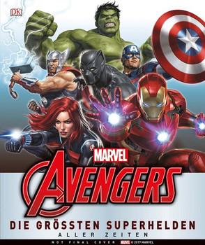 MARVEL Avengers Die größten Superhelden aller Zeiten - Alastair Dougal  [Gebundene Ausgabe]
