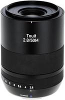 Zeiss Touit 50 mm F2.8 52 mm filter (geschikt voor Fujifilm X) zwart