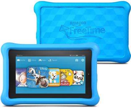"Amazon Fire 7"" 8 Go [Wi-Fi, Kids Edition] bleu"