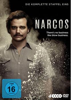 Narcos - Die komplette Staffel Eins [4 Discs]