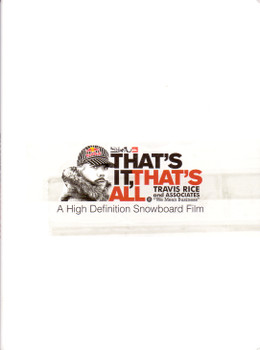 Thats It Thats All: Snowboarding [Import]