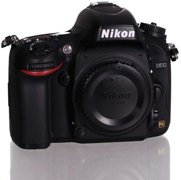 Nikon D610 SLR-Digitale camera zwart