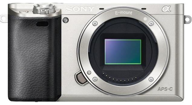 Sony Alpha 6000 body argento