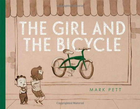The Girl and the Bicycle - Pett, Mark