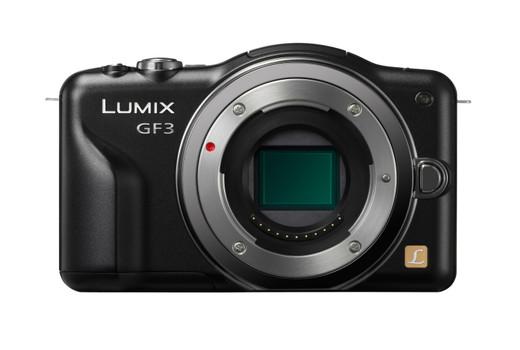 Panasonic Lumix DMC-GF3 noir