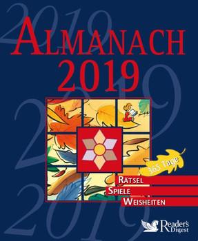 Almanach 2019. 365 Tage - Rätsel, Spiele, Weisheiten [Gebundene Ausgabe]