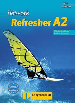 English Network Refresher A2. Lehr- und Arbeitsbuch: Kompakter Auffrischungsband für Wiedereinsteiger bis A2-Niveau. Mit Pocket-Grammar A1/A2 und Audio-CD - Gaynor Ramsey