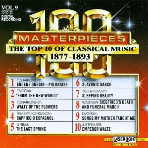 One Hundred Masterpieces - Vol.9-Top Ten of 1877-1893