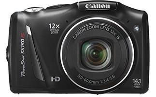 Canon PowerShot SX 150 IS noir