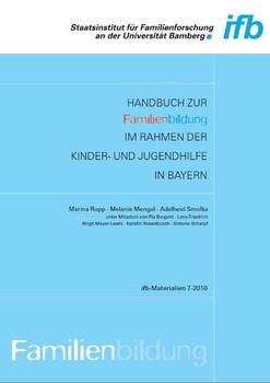 Handbuch zur Familienbildung im Rahmen der Kinder- und Jugendhilfe in Bayern - Marina Rupp  [Gebundene Ausgabe]
